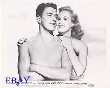 Ronald Reagan barechested,  Virginia Mayo VINTAGE Photo Girls From Jones Beach