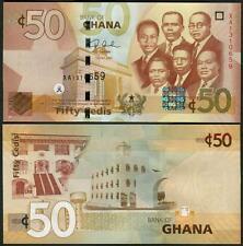 Ghana 50 Cedis 2007 P41 UNC