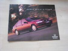 24830) Honda Civic Übergröße Prospekt 1997