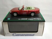 CARARAMA CLASSIC COLLECTIONS 1:43 SCALE DIECAST - JAGUAR XK8 - RED - #143