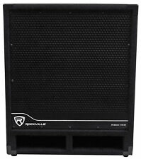 "Rockville RBG15S 15"" 1600w Active Powered PA Subwoofer w/DSP + Limiter Pro/DJ"