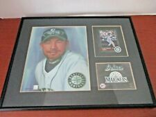 SEATTLE MARINERS ICHIRO SUZUKI Baseball Framed CARD & Painted PICTURE PRINT