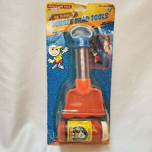 Vintage 1995 Mr Bubbles New Set Blow Bubbles Sand Tool Shovel Sealed Damaged Pk