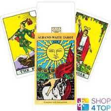 ALBANO WAITE TAROT DECK CARDS ORACLE ESOTERIC TELLING GAMES SYSTEMS NEW