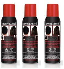 3 Bottles Of Jerome Russell Dark Brown Spray on Hair Color Thickener 3.5 oz