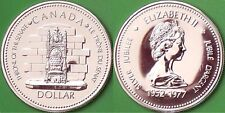 1977 Canada Silver Queen's Accession Dollar Graded as Specimen