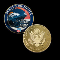 Business Souvenir Gifts DENVER BRONCOS Coin US NFL Metal Coin for Collections