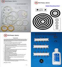 1978 Bally Mata Hari Pinball Basic Tune-up Kit - includes Rubber Rings Kit
