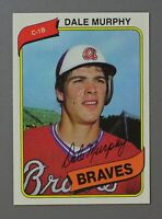 1980 TOPPS #274 -- DALE MURPHY -- Atlanta Braves BASEBALL CARD