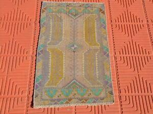 Small Kilim Rug, Vintage Rugs, Bedside Rug, Entrance Rug, Office Rug, Front door
