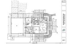 Custom Home Barndominium House Plan Blueprint
