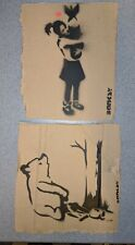 Dismaland Free Art Cardboard 2015 Banksy Honey trap & Bomb hugger