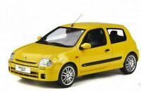 OTTO MOBILE 878 RENAULT CLIO 2 RS Ph1 resin model road car yellow 1999 1:18th