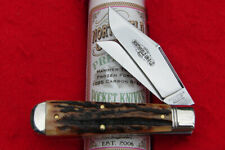 Great Eastern Northfield #86 Sambar Stag Oil Field Jack Knife - 861219 USA