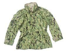 NWU ECWCS parka jacket LARGE AOR1 working uniform US Navy Type III TAD PCU LBT