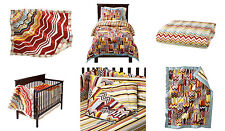Missoni Target Crib Bedding Set of 3 Blanket, Slip Cover, Crib Padding