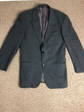 Hugo Boss Suit Jacket 40R Charcoal Grey Two Button Pure Wool