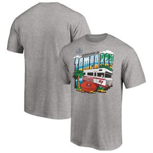 Tampa Bay Buccaneers T-Shirt Men's NFL Participant Vacation T-Shirt - New