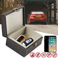 Car Keys Signal Blocker Box Leather Faraday RFID Signal Blocker Pouch Keyless CA