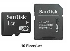 5 x 1GB SanDisk 1GB Micro SD Class 4  TF Memory Card Genuine For Cellphones New