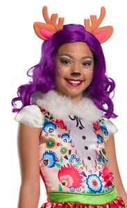 Danessa Deer Child Wig with Ears Costume Accessory NEW Enchantimals