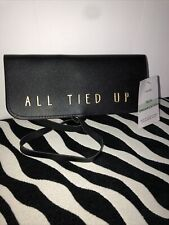 All Tied Up Tech Organization Pouch Black