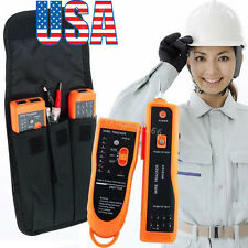 【 USA】 RJ45 RJ11 Wire Tracker Tracer Ethernet LAN Network Phone Cable Tester