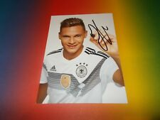 Joshua Kimmich  DFB WM 2018 Russland signed signiert Autogramm Autogrammkarte