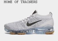 Nike Air VaporMax Flyknit 3 Grey Brown Men's Trainers All Sizes