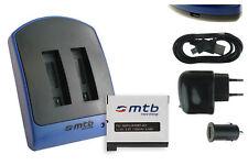 Baterìa + Cargador doble (USB) AHDBT-401 / AHDBT401 para GoPro Hero 4