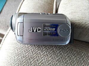 JVC Hard Disk Camcorder 20GB Everio 32X Optical Zoom HDD (very good freepost)