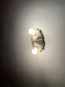 Art Deco Pocelier Porcelain Ceiling Light Fixture & Sconces room1