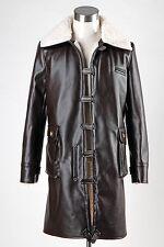 Batman The Dark Knight Rises Distressed Leather Coats Clothes Men Costume