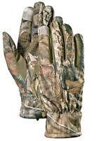 Cabela's Men's Softshell Realtree XTRA Camo Pro Text Medium or XL Hunting Gloves