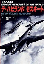 war ww2 DE HAVILLAND MOSQUITO , Famous Airplanes of the world no.48 Japan 1998