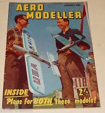 AERO MODELLER January 1961 Plans : SOPWITH Triplane CLERGET + BANBOY + STUKA