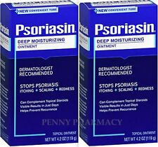 PSORIASIN Ointment 4.2 oz  ( 2 pack ) NEW NOW in TUBE!