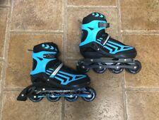 Papaison Adjustable Inline Skates - Rollerblades Blue Xl