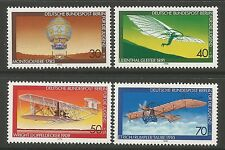 BERLIN. 1978. Youth Welfare (Aviation) Set. SG: B547/50. Mint Never Hinged.