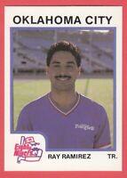 1987 Minor League ProCards # 156 Ray Ramirez - Oklahoma City Eighty Niners
