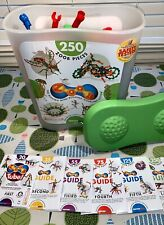 ZOOB 250-Piece Building Set With 6 Building Manuals