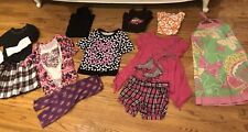 Lot Of 10 Girl 7-8 Justice Gymboree Children Place Shirts Sweaters Shorts Tops
