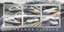 Timbres Trains TGV Congo ** bloc non dentelé année 2012 lot 6337