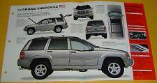 1998 Jeep Grand Cherokee Limited LX 360 ci FI IMP Info/Specs/Photo 15x9