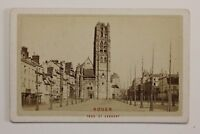 Postal-Rouen st Lawrence Francia Carte de visite Foto P48S3n18 Vintage Albúmina
