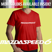 Mazda Motor Mazdaspeed 6 Mazdaspeed6 MPS COBB Automotive Mens Tee V-Neck T-Shirt