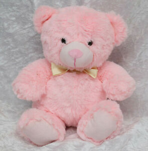 Wilko pink teddy bear 10.5 inches tall collectable baby toys