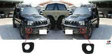 FOR SUZUKI JIMNY 12-19 NEW FRONT FOG LIGHT COVER SURROUNDING TRIM PAIR SET L&R