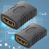 2 STÜCKE HDMI Extender Buchse Auf Buchse Koppler Adapter Verbindungsstück F V6R9