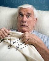Leslie Nielsen signed 8X10 photo poster picture autograph RP